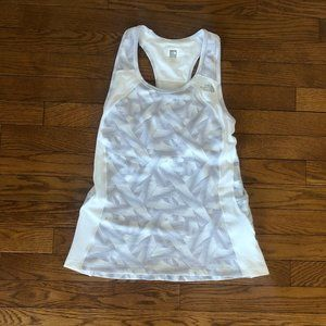 The North Face Flight Series White and Grey Tank
